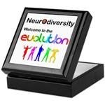 Neurodiversity Evolution Keepsake Box