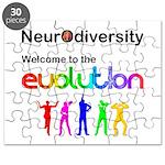 Neurodiversity Evolution Puzzle