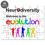Neurodiversity Evolution Puzzle