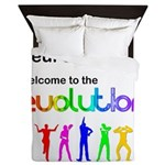 Neurodiversity Evolution Queen Duvet
