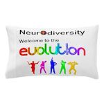 Neurodiversity Evolution Pillow Case