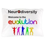 Neurodiversity Evolution Pillow Case