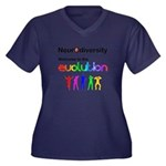 Neurodiversity Evolution Plus Size T-Shirt