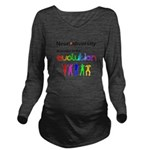 Neurodiversity Evolution Long Sleeve Maternity T-S