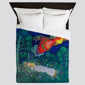 Russian Fairy Tale - The Firebird by E Queen Duvet