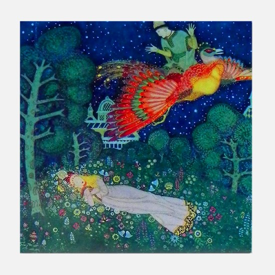 Russian Fairy Tale - The Firebird by Tile Coaster
