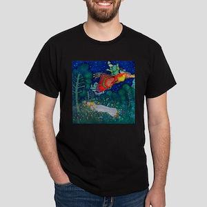 Russian Fairy Tale - The Firebird by Dark T-Shirt