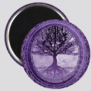 Tree of Life in Purple Magnets