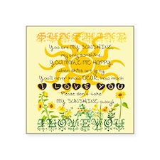 You are my sunshine! Sticker