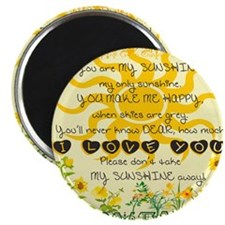 You are my sunshine! Magnets