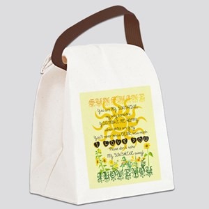 You are my sunshine! Canvas Lunch Bag