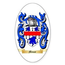 Minar Sticker (Oval)