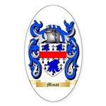 Minar Sticker (Oval 10 pk)