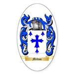 Milton Sticker (Oval 50 pk)