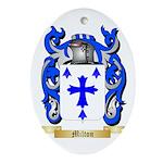 Milton Oval Ornament