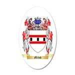 Milod 20x12 Oval Wall Decal