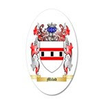 Milod 35x21 Oval Wall Decal