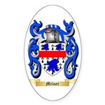 Milner Sticker (Oval)
