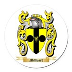 Millward Round Car Magnet