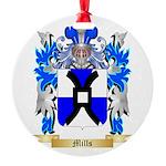 Mills Round Ornament