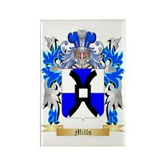 Mills Rectangle Magnet (10 pack)