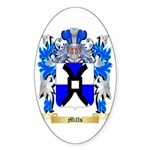 Mills Sticker (Oval 50 pk)