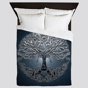 Tree of Life Nova Queen Duvet