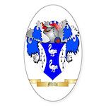 Mills (Ulster) Sticker (Oval 10 pk)