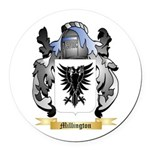Millington Round Car Magnet