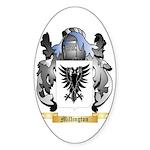 Millington Sticker (Oval 50 pk)