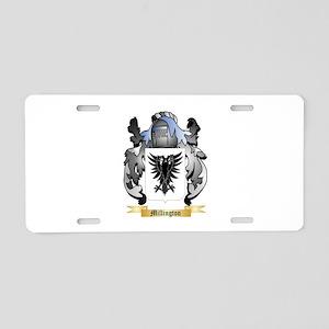 Millington Aluminum License Plate