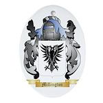 Millington Oval Ornament