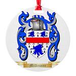 Millinaire Round Ornament