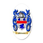 Millinaire Oval Car Magnet
