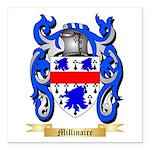 Millinaire Square Car Magnet 3