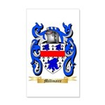 Millinaire 20x12 Wall Decal
