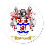 Milligan Round Car Magnet