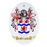 Milligan Oval Ornament