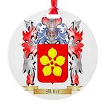 Millet Round Ornament