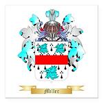 Miller Square Car Magnet 3