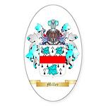 Miller Sticker (Oval 50 pk)