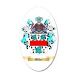Miller 35x21 Oval Wall Decal