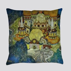 Serbian Fairy Tale - Bashtchelik Everyday Pillow