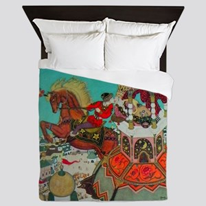 Russian Fairy Tale - Ivan and Chestnut Queen Duvet