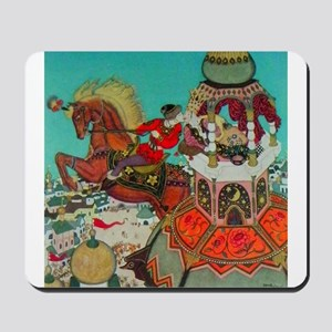 Russian Fairy Tale - Ivan and Chestnut H Mousepad