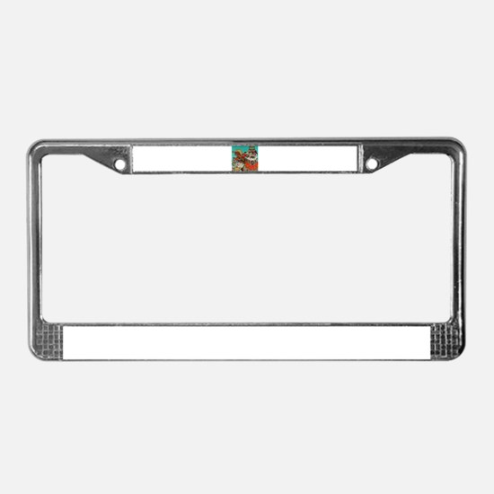 Russian Fairy Tale - Ivan and License Plate Frame