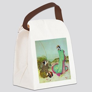 Japanese Fairy Tale - UrashimaT Canvas Lunch Bag