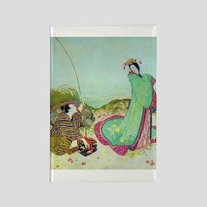 Japanese Fairy Tale - UrashimaT Rectangle Magnet