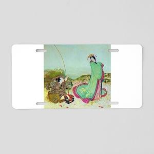 Japanese Fairy Tale - Ura Aluminum License Plate