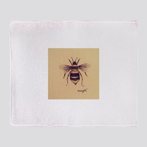 Bumblebee Throw Blanket